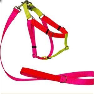 Colourblock Nylon Harness - XS